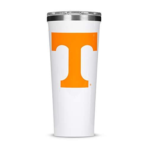 (Corkcicle Tumbler - 24oz NCAA Triple Insulated Stainless Steel Travel Mug, University of Tennessee Volunteers, Big Logo)