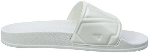 white Aperta Punta Raw Donna G Sandali Ii Bianco Cart 110 Slide A star qZPCB