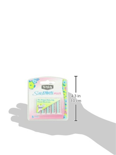 Schick Silk Effects Razor Blade Refills Women -