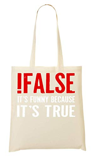 Mano De La Bolsa false Because Compra Bolso True Funny It's F7xRY