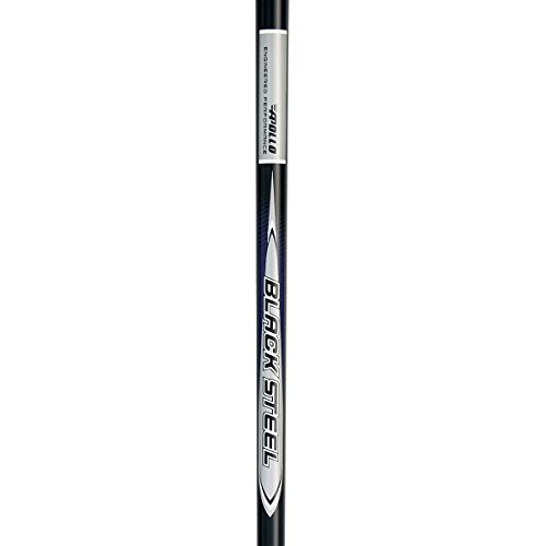 Stepless Steel Putter Shaft (Apollo Black Steel Stepless - Iron R/S)