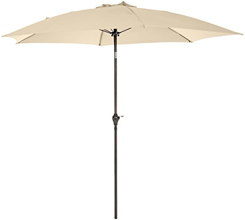 AmazonBasics JC008 Patio Umbrella-9-Foot, Beige