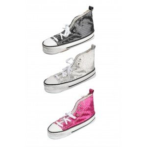 dfa0cd86cafd MA 17 1x Pencil Case Converse Shoe Design with Glitter - Available in 3  Colours  Amazon.co.uk  Office Products