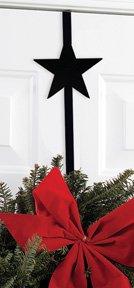 Village Wrought Iron 13 Inch Star Wreath Hanger