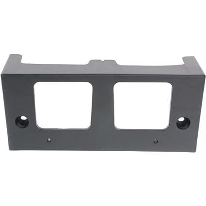 ALTIMA 13-15 FRONT LICENSE PLATE BRACKET NI1068115 Textured Black Make Auto Parts Manufacturing Sedan