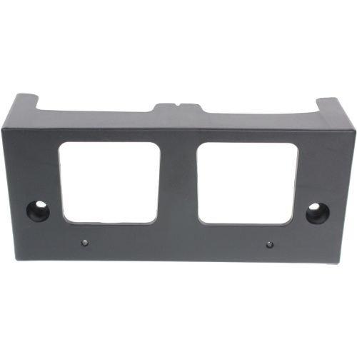 Make Auto Parts Manufacturing - ALTIMA 13-15 FRONT LICENSE PLATE BRACKET, Textured Black, Sedan - NI1068115