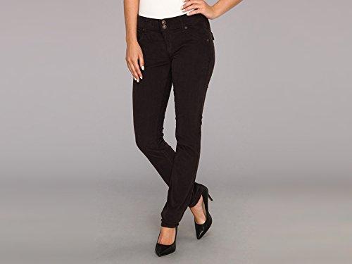 Hudson Jeans Women's Collin Midrise Skinny Cord, Chestnut Brown, 24