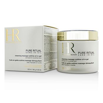 Helena Rubinstein Pure Ritual Care-In-Oil Cleansing Massage Sublime Oil-In-Gel, 6.49 Ounce ()