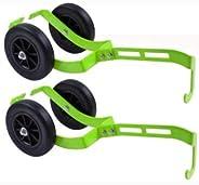 2 Pack Sled Dollies - Sled Wheels - Snowmobile Dolly - Ski Wheels - Sled Roller