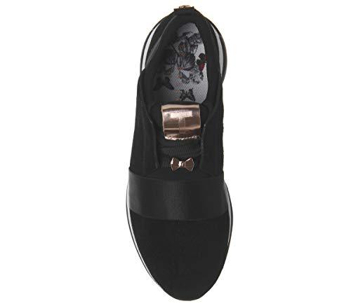 black Baker Femme Cepa Baskets Noir Ted Blk 4Tqfpww