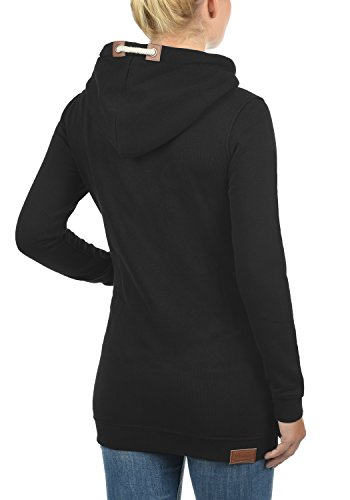 Vicky Black Con Desires Hood long Hoodie Sudadera Capucha 9000 Suéter Mujer Para BwqZ4d