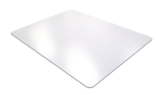 Desktex PVC Desk Mat, Economical Surface Protection Mat, Rectangular, Clear, 20