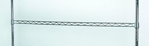 Tarrison HR24C Work Centre Chrome Hanger Rail, 24'' Width by Tarrison Products