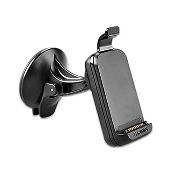 Garmin Suction Cup Mount - Soporte para GPS (con alimentación y altavoz), negro