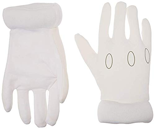 Disguise Super Mario Brothers - Child Gloves - One-Size -