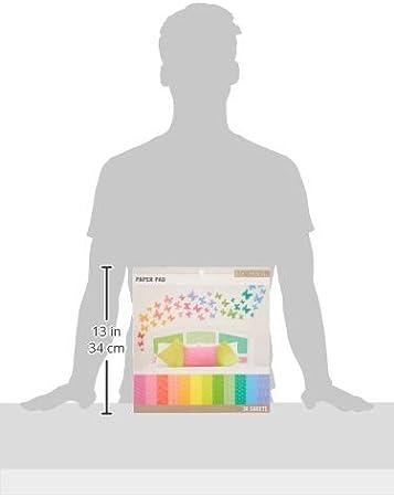 Sconosciuto K /& Company Basics 12/x 30,5/cm Paper Pad 36//pkg-Brights 12/Designs//3/Each