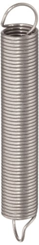 - Associated Spring Raymond T41040 Extension Spring, 302 Stainless Steel, Metric, 6 mm OD, 0.55 mm Wire Size, 41.4 mm Free Length, 125.7 mm Extended Length, 7.9 N Load Capacity, 0.09 N/mm Spring Rate (Pack of 10)