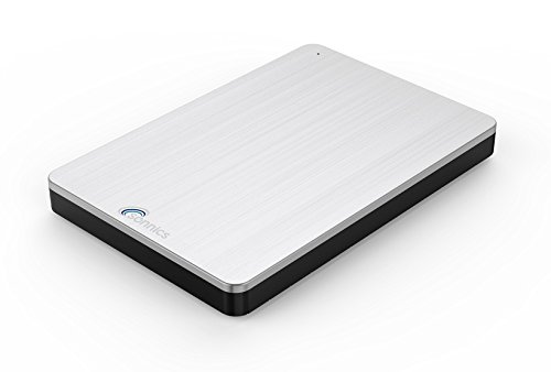Sonnics 160GB Silver External Pocket Hard Drive USB 3.0 Compatible with Windows PC, Mac, Smart TV & Xbox 360