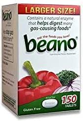 Beano Food Enzyme Dietary Supplement | H...
