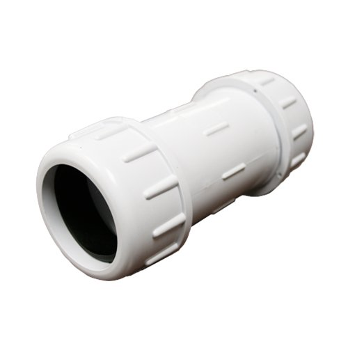 PlumBest C12125R PVC Compression Coupling, 1-1/4-Inch IPS - Ips Pvc Pipe