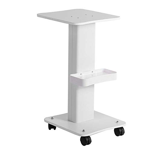 Beauty Salon Trolley, All-Purpose Storage Trolley Exquisite Storage Rack Professional Trolley Cart with A Hanging Basket Used for Storing Beauty Liquid Skin Care Products