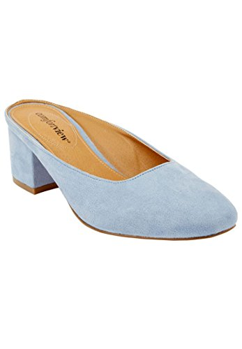 Comfortview Kvinnor Brett Judy Mulor Chambray