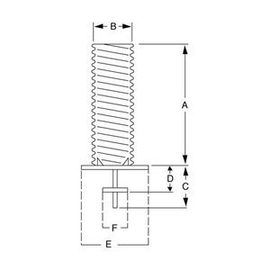 Galvanized Steel Foundation Sleeve w/ Base Plate, Ground Spike, and Steel Center Wedges 6'' - For Poles Up to 30ft