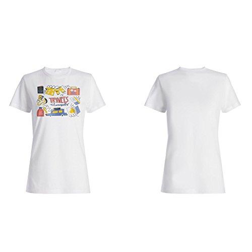 Neue Elemente Entdecken Damen T-shirt m423f