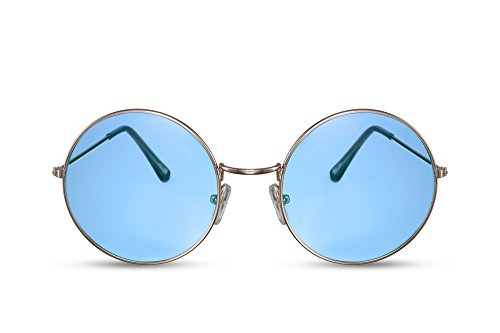 Noir Léo 022 Marron Lunettes Rondes Miroitant Or Rétro Sunglasses Ca Cheapass xYnHwzZtqq