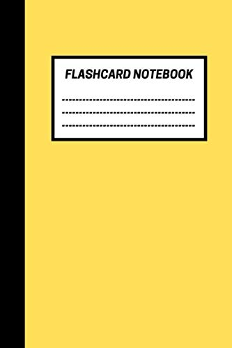 Flash Card Notebook: Blank Flash Cards with Spaced Repetition and Lapse Tracker (480 Cards) por Active Notebooks