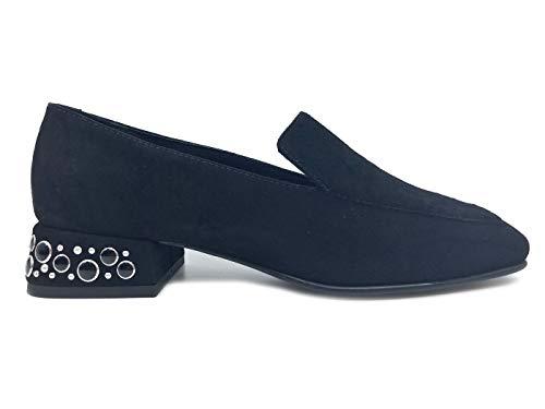 Femme Noir Blu Tosca Pour Mocassins 0y8UqS
