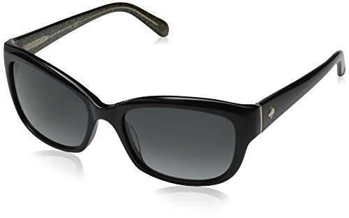 Kate Spade Women's Johanna Rectangular Sunglasses, Black, 53 - Women Sunglasses 2014