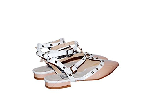Sandalen Sandaletten aus Leder Schuhe Damen RIPA shoes - 18-0300