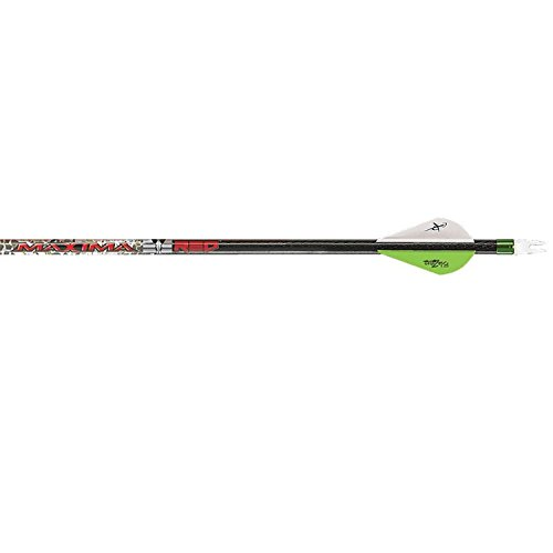Carbon Express 50977 Maxima Red Badlands 250 Arrows (6 Pack), Badlands Approach/Black - Maxima Hunter 250 Shaft
