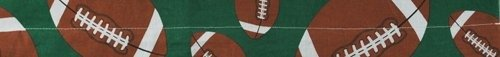 Zanheadgear Cooldanna 100 Percent Cotton Footballs Tie (Cooldanna Cooling Headband)