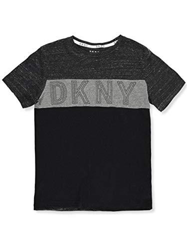 DKNY Boys' T-Shirt - Black Heather, ()
