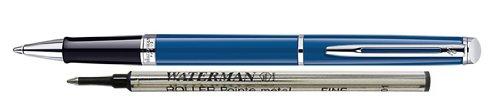 Waterman Hemisphere Blue Rollerball Pen CT, Fine Point, Black Ink