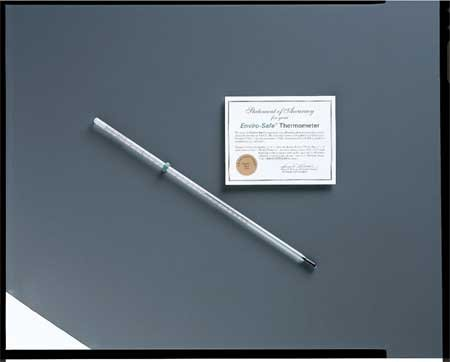 Pocket Glass Thermometer, -10 to 110C