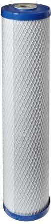 Pentek EP-20BB Cartucho de filtro de bloque de carbono, 50,8 x 10,16 cm, 5 micras