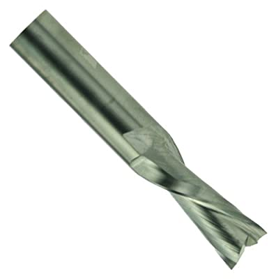 Whiteside Router Bits RU5200 Standard Spiral Bit with Up Cut Solid Carbide 1/2-Inch Cutting Diameter and 2-Inch Cutting Length