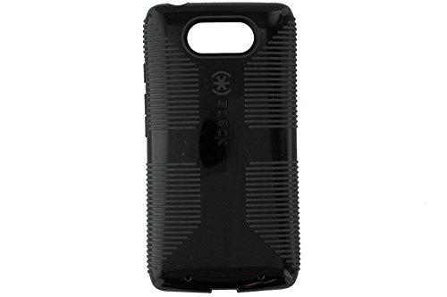 Turbo Case - Speck Products CandyShell Grip - Motorola Droid Turbo - Black/SlateGray