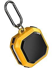 جراب حماية لسماعات جالاكسي لايف وجالاكسي برو/ بودز 2 قطعة بتصميم قشرة البيض للحماية من الصدمات (اصفر)