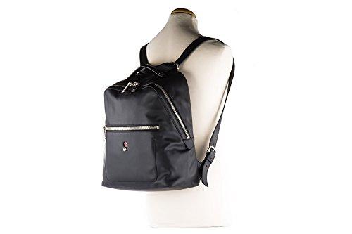 Fendi sac à dos homme en cuir veau century face noir