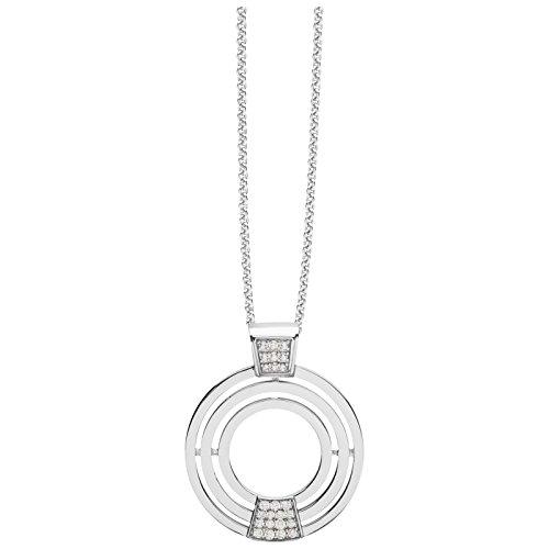 Silver Trends Collier avec pendentif en argent avec avec Oxyde de Zirconium-45cm st1330