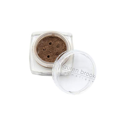 Lauren Brooke Cosmetiques Natural Powder Eye Color, Organic Eyeshadow Makeup (Toffee (Matte))