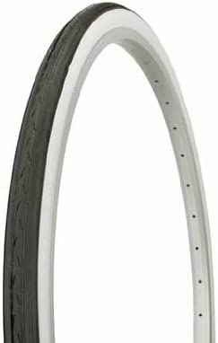 "1 DURO 26/"" x 1-3//8/"" BICYCLE WHITE TIRES CITY ROAD CRUISER TOURING RACING BIKE"