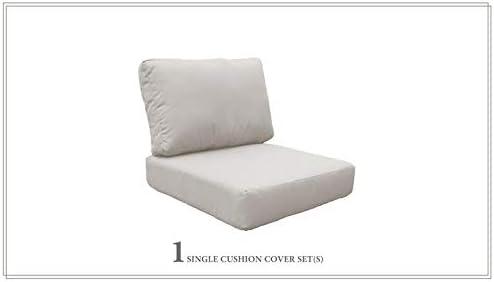 TK Classics 6 inch High Back Cushions