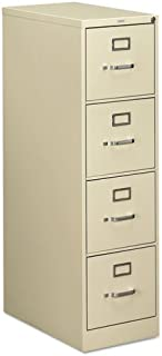 product image for HON COMPANY 510 Series Four-Drawer, Full-Suspension File, Letter, 52h x25d, Putty, Sold as 1 Each