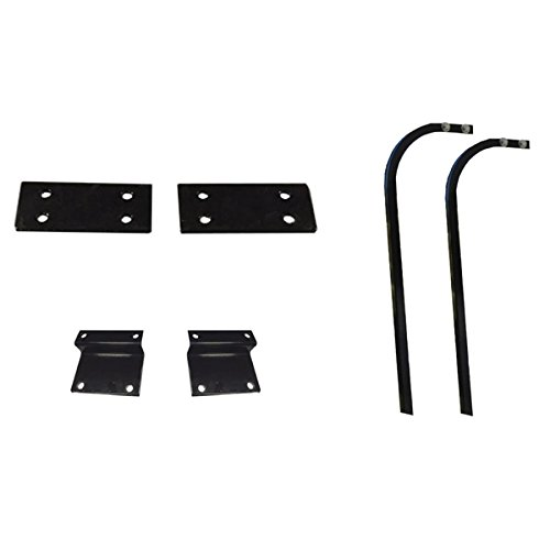 "Madjax 84"" Triple Track Extended Top Mounting Kits for Club Car Precedent & Yamaha Drive"
