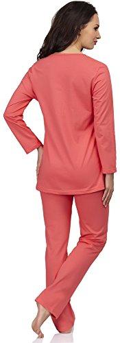 Be Mammy Para Mujer para Lactante Pijama Susan Coral